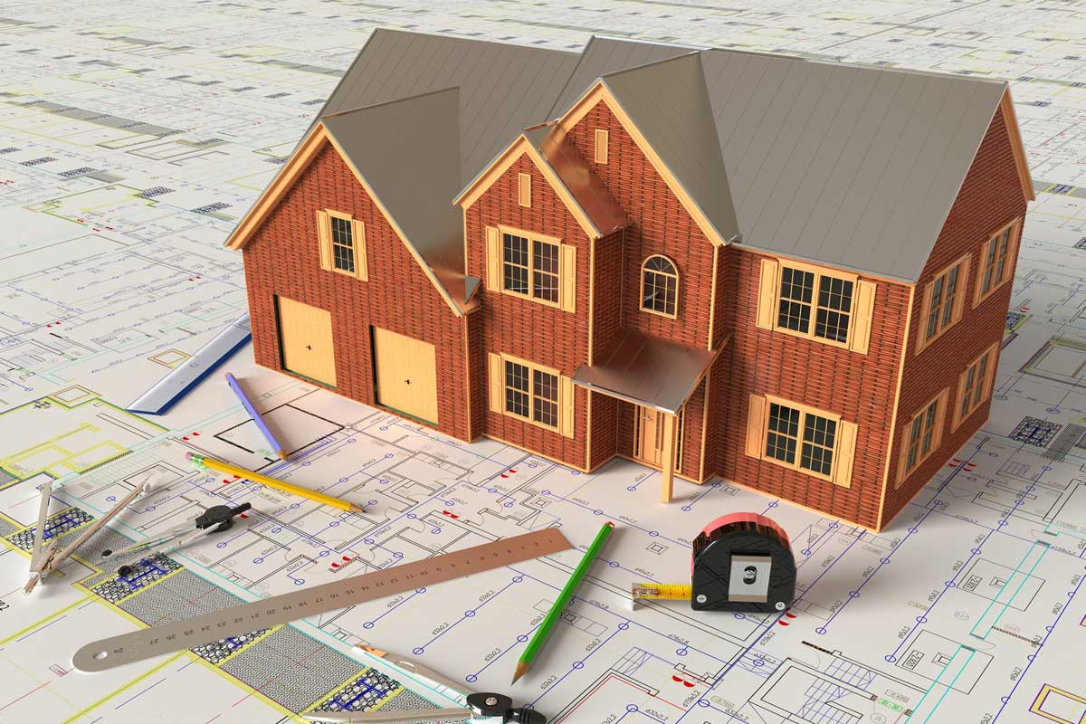 Residential Building Firm MS Access Database